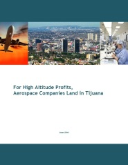 Tijuana DEITAC Aerospace White Paper Photo for the Paris Air Show